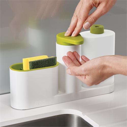 Органайзер с дозатором для мыла Joseph Joseph SinkBase™ 3pc Sink Tidy Set 1
