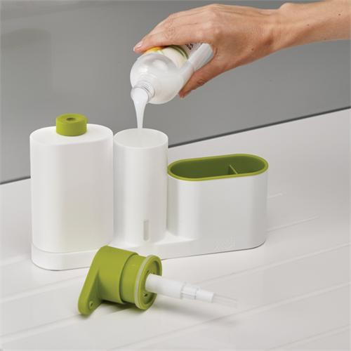 Органайзер с дозатором для мыла Joseph Joseph SinkBase™ 3pc Sink Tidy Set 2