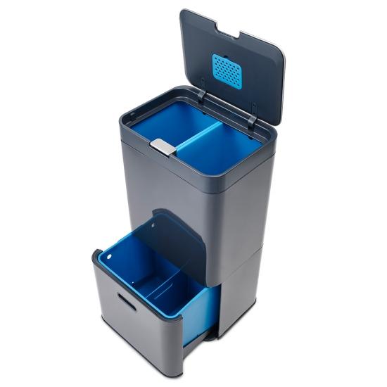 Контейнер для сортировки мусора Joseph Joseph Totem Recycler 58L 5