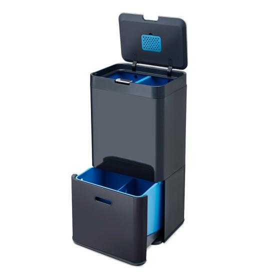 Контейнер для сортировки мусора Joseph Joseph Totem Recycler 58L 4