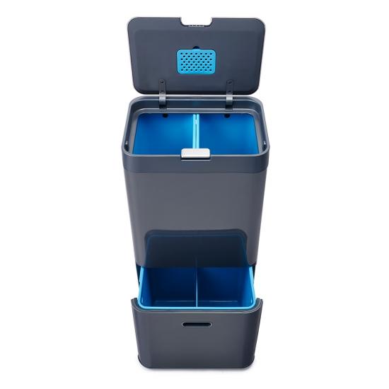 Контейнер для сортировки мусора Joseph Joseph Totem Recycler 58L 6