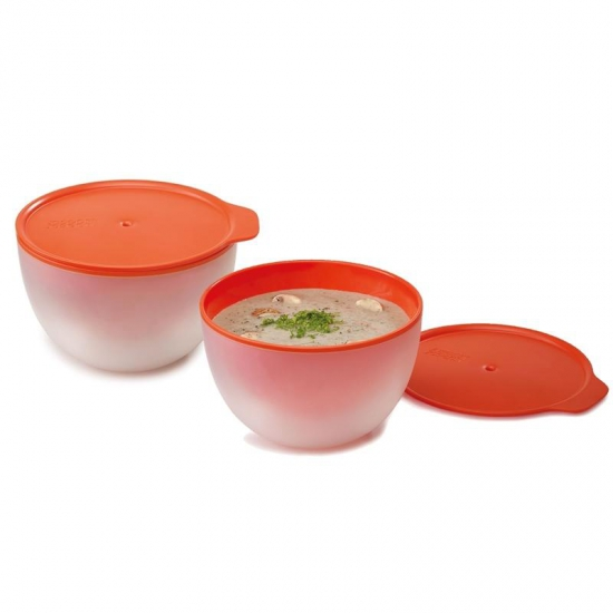 Набор пиал для микроволновки Joseph Joseph M-Cuisine™ Microwave Cool-Touch Bowls 1