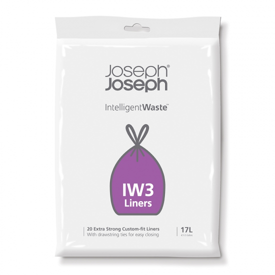 Пакеты для мусора Joseph Joseph Custom-fit liners (IW3) 17 Litre 1