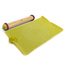 Комплект для выпечки Joseph Joseph Rolling Pin & Roll-up
