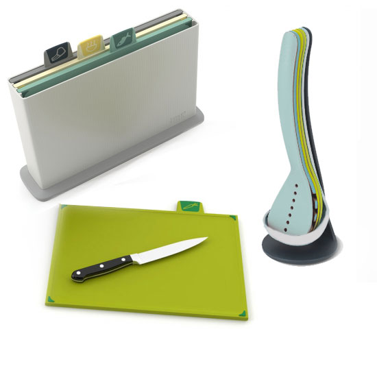 Комплект для кухни Joseph Joseph Utensils & Chopping Board Set 2