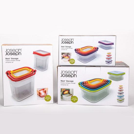 Комплект контейнеров для хранения продуктов Joseph Joseph Nest Storage Set 3pc 9