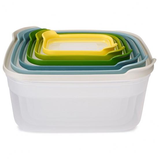 Комплект из 12 контейнеров для хранения продуктов Joseph Joseph Nest Storage Set 6x2 8