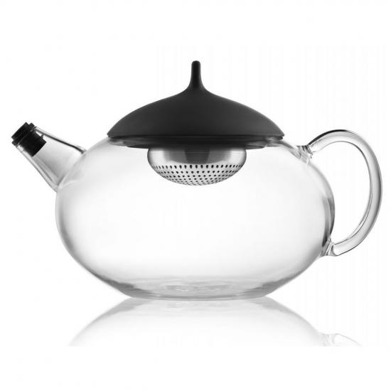 Чайник с механизмом для заваривания Glass Teapot with Built in Tea Egg 2