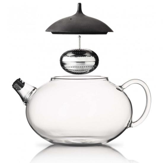 Чайник с механизмом для заваривания Glass Teapot with Built in Tea Egg 3