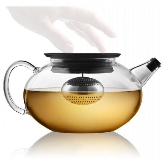 Чайник с механизмом для заваривания Glass Teapot with Built in Tea Egg 5