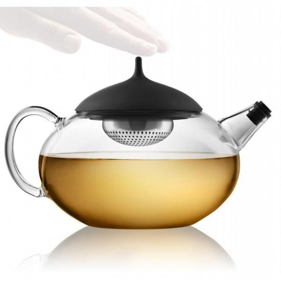 Чайник с механизмом для заваривания Glass Teapot with Built in Tea Egg 4