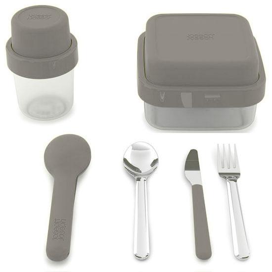 Комплект ланч-боксов Joseph Joseph GoEat Soup/Salad/Cutlery Set 8