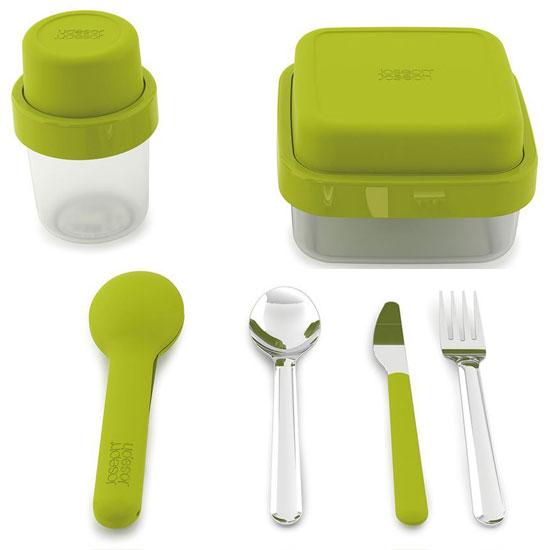 Комплект ланч-боксов Joseph Joseph GoEat Soup/Salad/Cutlery Set 1