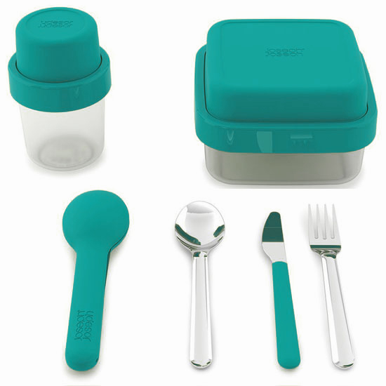 Комплект ланч-боксов Joseph Joseph GoEat Soup/Salad/Cutlery Set 9