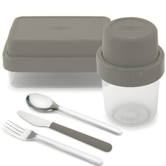 Комплект ланч-боксов Joseph Joseph GoEat Soup/Lunch box/Cutlery Set 2