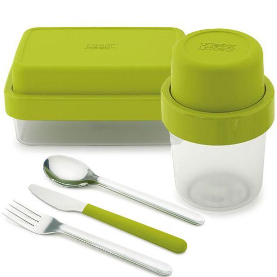 Комплект ланч-боксов Joseph Joseph GoEat Soup/Lunch box/Cutlery Set 1