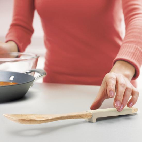 Лопаточка-шумовка деревянная Joseph Joseph Elevate™ Wood Batter Spoon 2