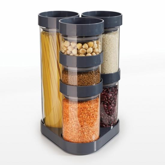Набор емкостей для хранения Joseph Joseph FoodStore™ Carousel 3