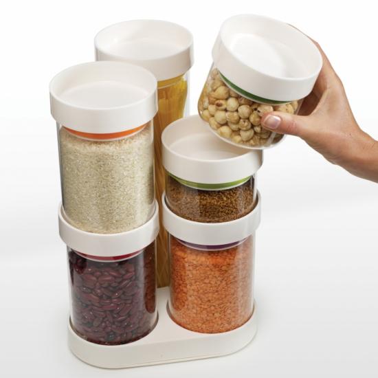 Набор емкостей для хранения Joseph Joseph FoodStore™ Carousel 4