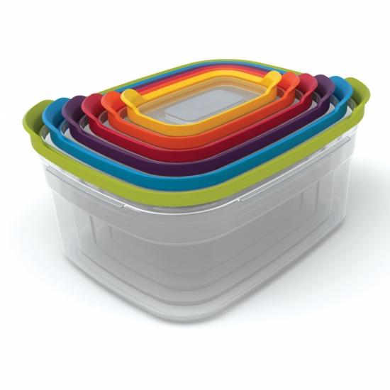 Контейнеры для хранения пищевых продуктов Joseph Joseph Nest™ Storage Set of 6 1