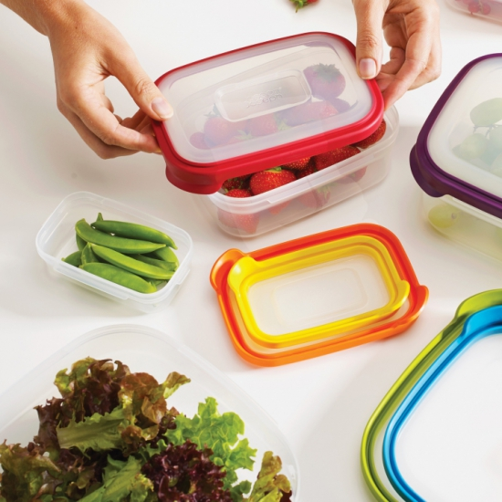 Контейнеры для хранения пищевых продуктов Joseph Joseph Nest™ Storage Set of 6 3