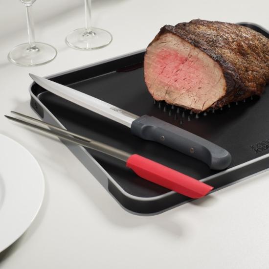 Набор для разделывания мяса из доски и ножей Joseph Joseph The Complete Carving Set 3